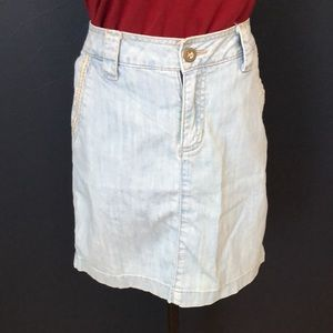 TRISTAN jean skirt
